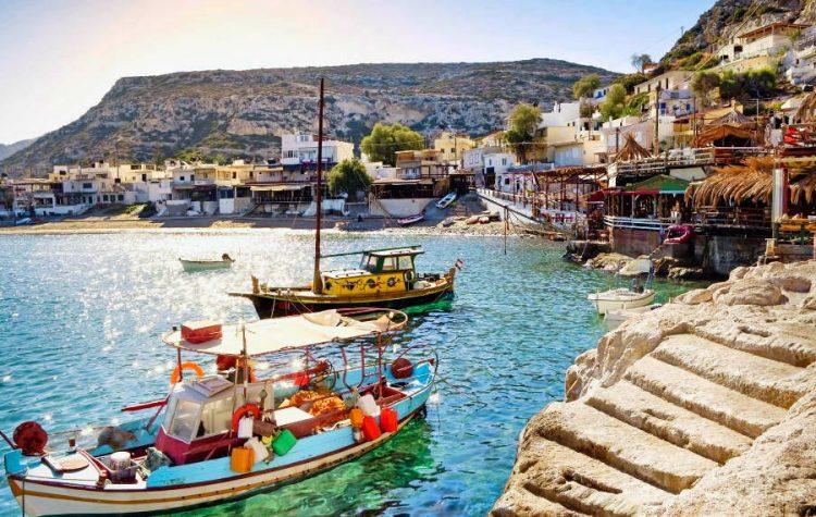 Pescuit in Creta